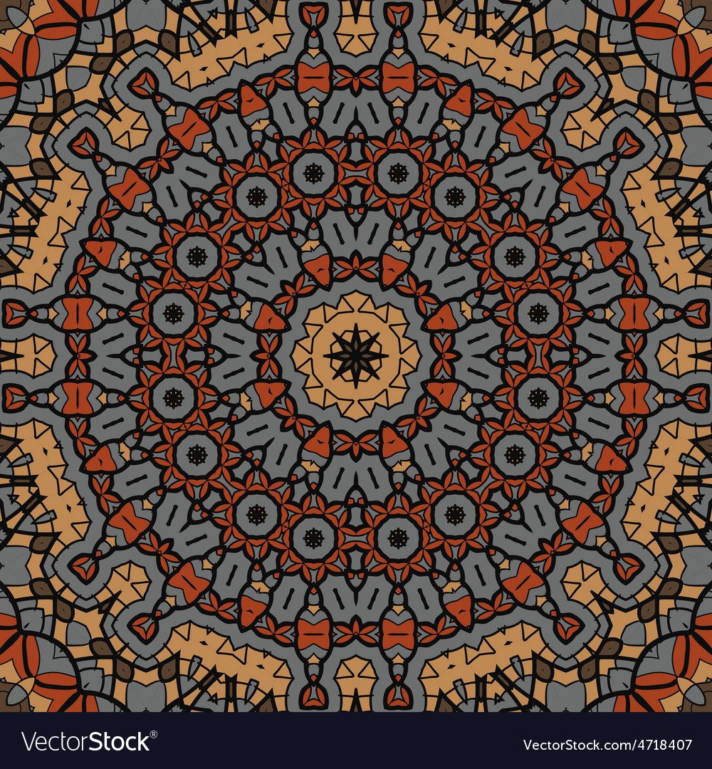 Brown seamless pattern background vintage texture vector   Price: 1 Credit (USD $1)