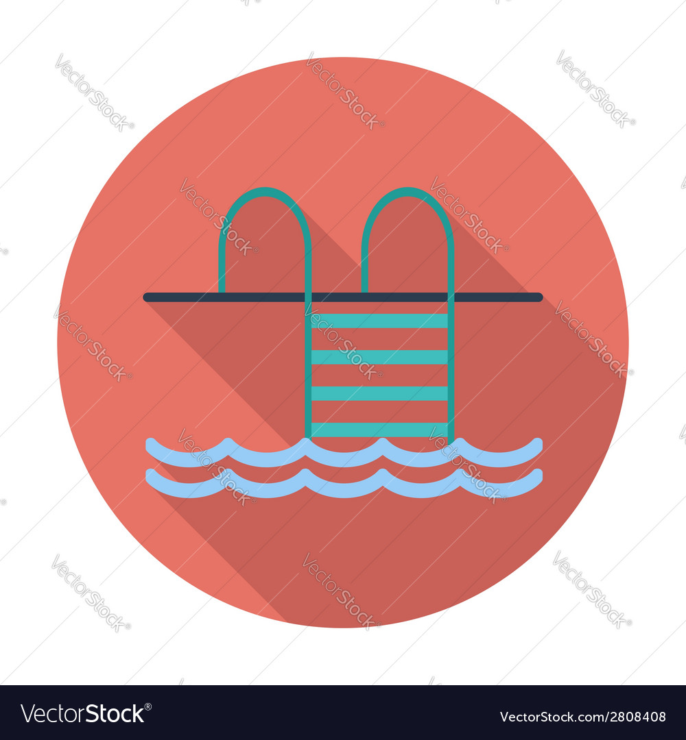 Pool flat icon vector | Price: 1 Credit (USD $1)