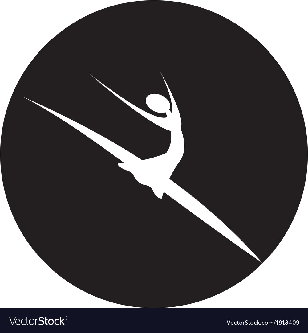 Dancer icon vector | Price: 1 Credit (USD $1)