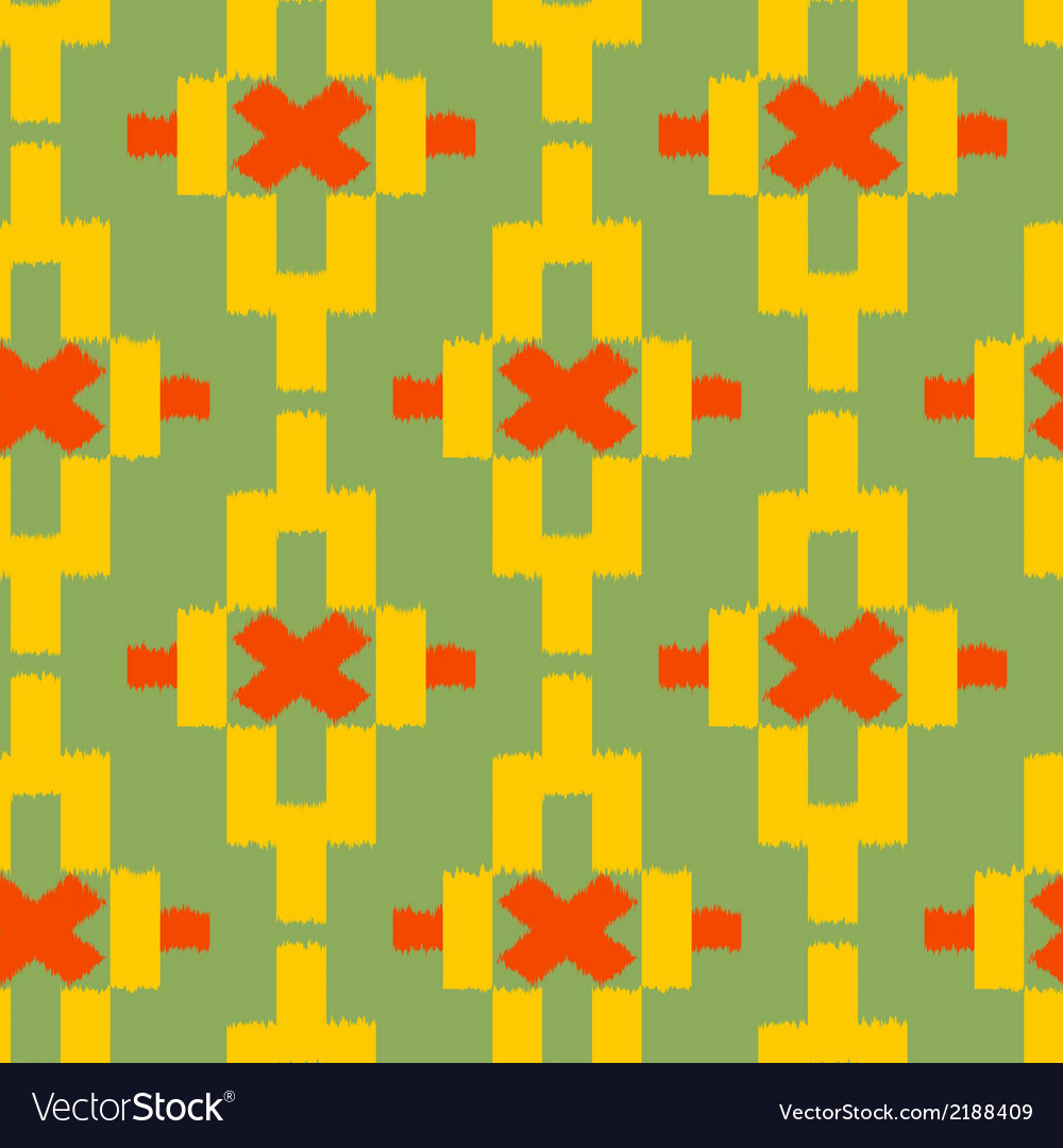 Seamless pattern in tribal indian style vector | Price: 1 Credit (USD $1)