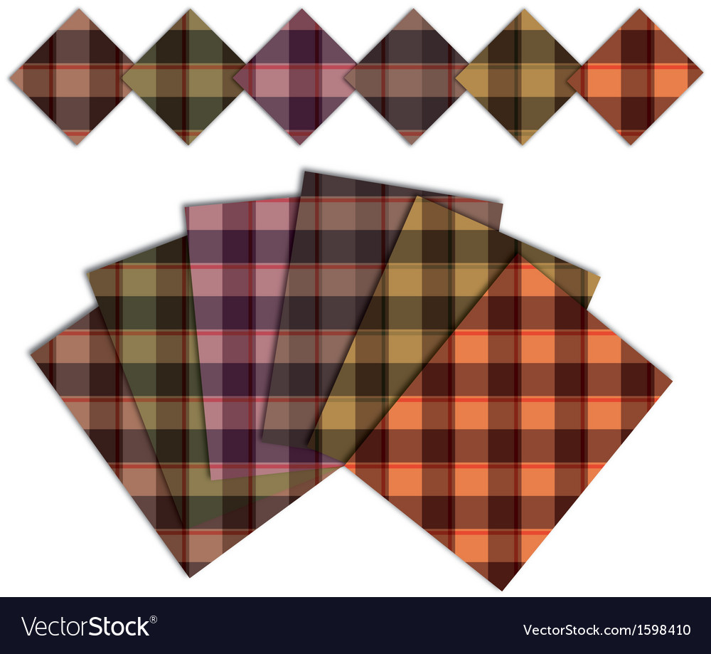 Caro warm pattern vector | Price: 1 Credit (USD $1)
