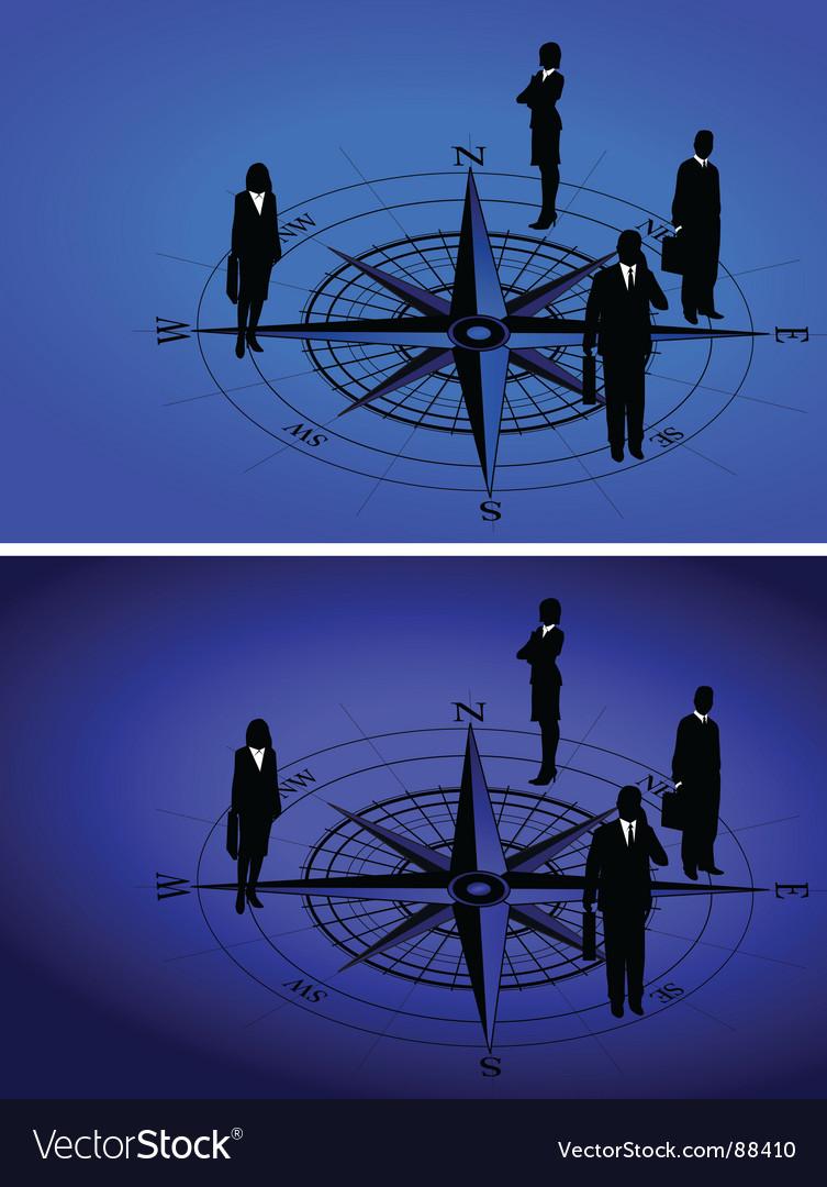 Compass figure vector | Price: 1 Credit (USD $1)
