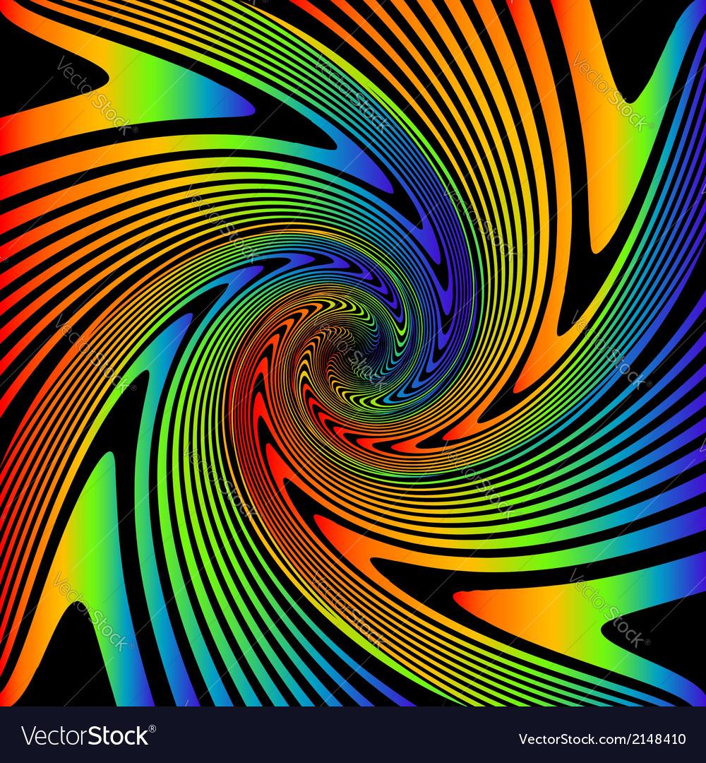 Design multicolor whirl movement background vector | Price: 1 Credit (USD $1)