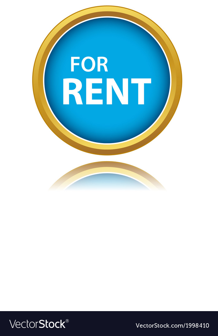 For rent tag vector | Price: 1 Credit (USD $1)