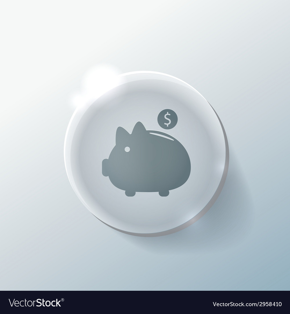 Piggy bank vector | Price: 1 Credit (USD $1)