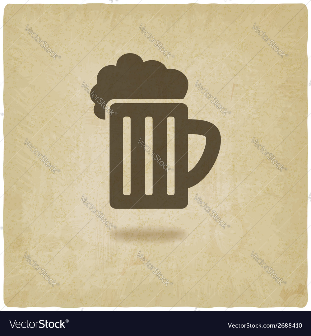 Pint old background vector | Price: 1 Credit (USD $1)