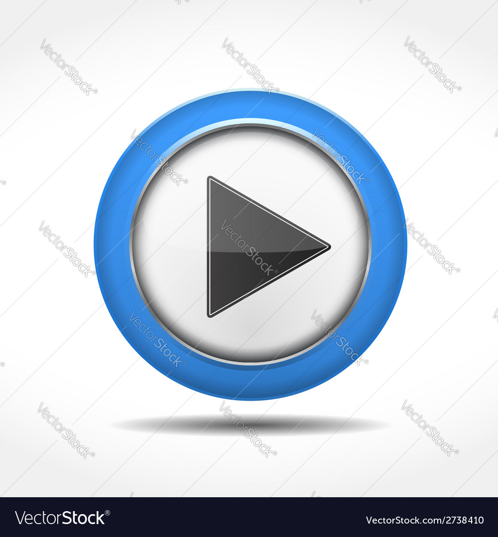 Play button vector | Price: 1 Credit (USD $1)