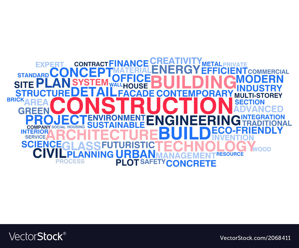 Building construction and civil engineering vector | Price: 1 Credit (USD $1)