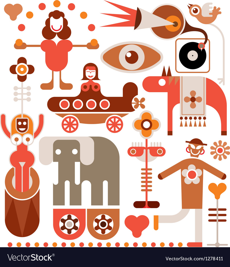 Circus vector | Price: 3 Credit (USD $3)