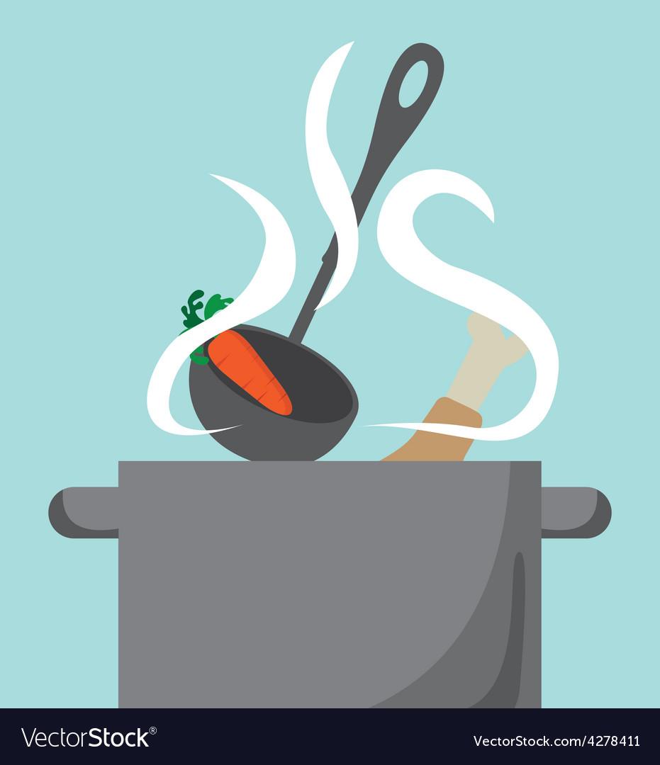 Cooking food vector | Price: 1 Credit (USD $1)