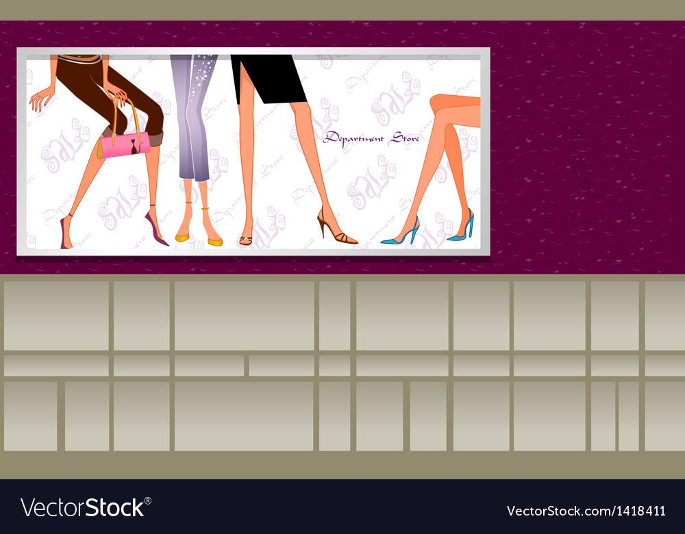 Departmental store vector   Price: 1 Credit (USD $1)
