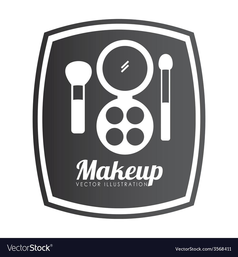 Make up design vector | Price: 1 Credit (USD $1)