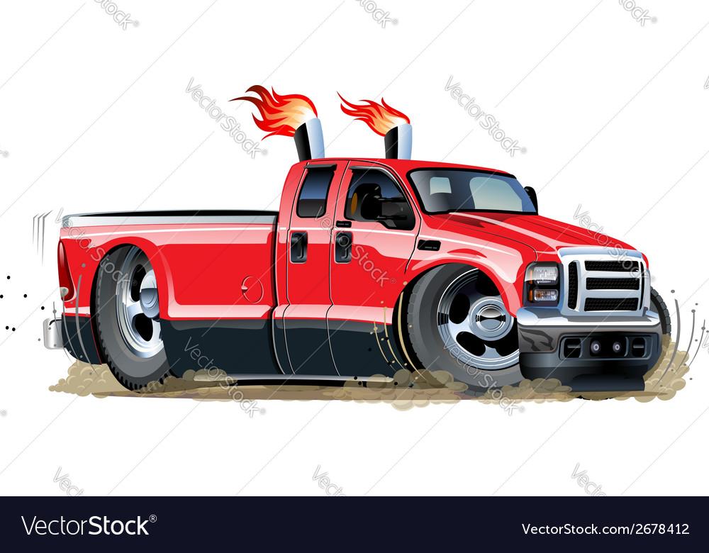 Cartoon pickup vector | Price: 3 Credit (USD $3)