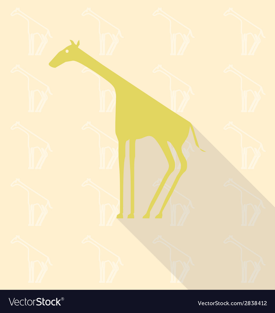 Giraffe vector   Price: 1 Credit (USD $1)