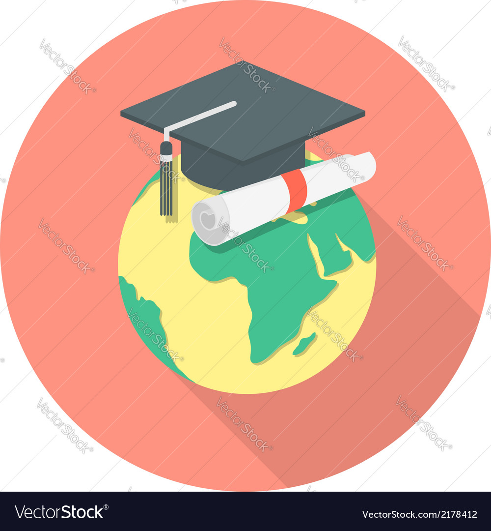 International education concept vector | Price: 1 Credit (USD $1)