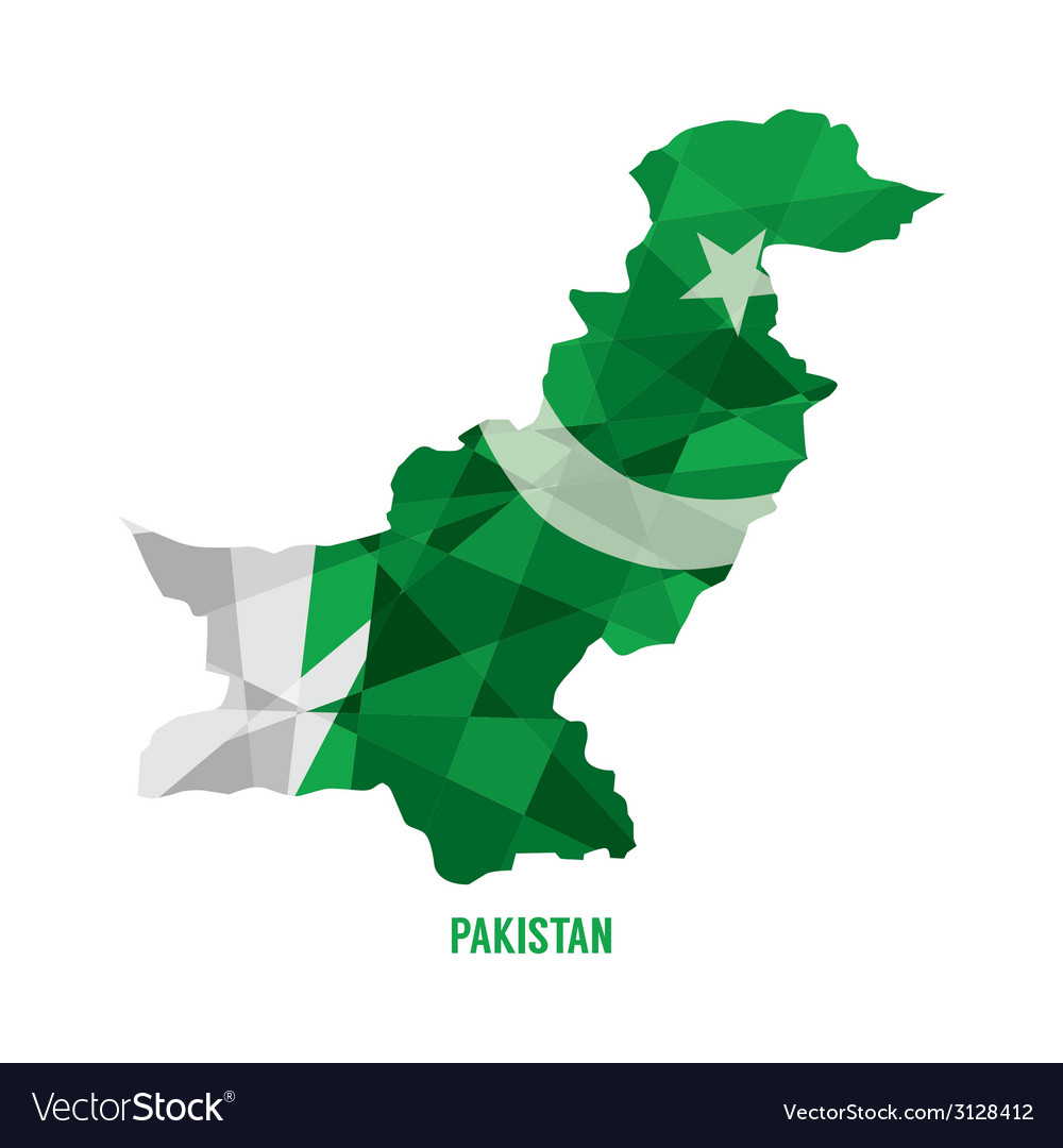 Map of pakistan vector | Price: 1 Credit (USD $1)