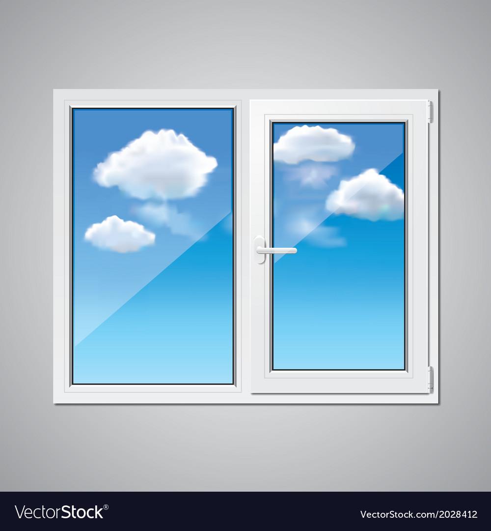 Object window sky vector | Price: 1 Credit (USD $1)