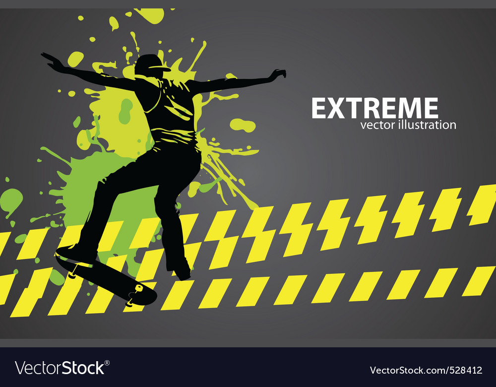 Skater vector | Price: 1 Credit (USD $1)