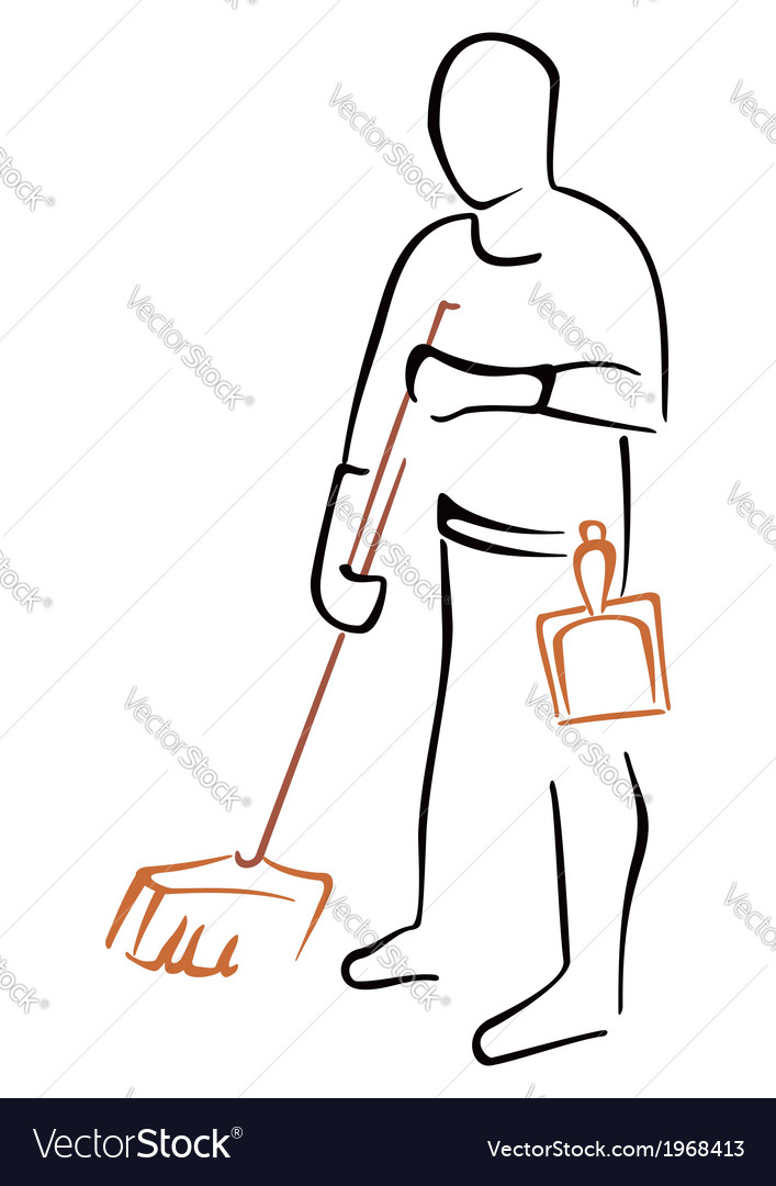 Cleaning symbol vector   Price: 1 Credit (USD $1)