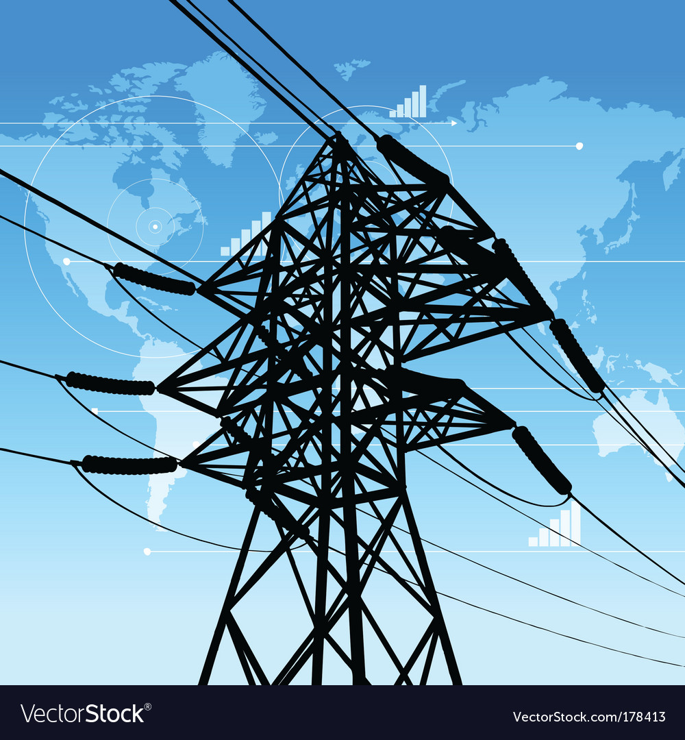 Power industry concept vector | Price: 1 Credit (USD $1)