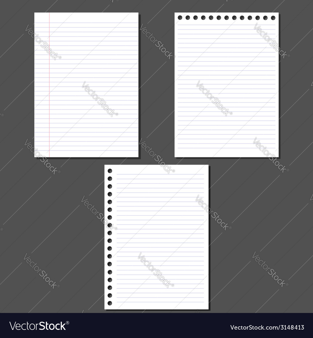 Sheets of paper vector | Price: 1 Credit (USD $1)