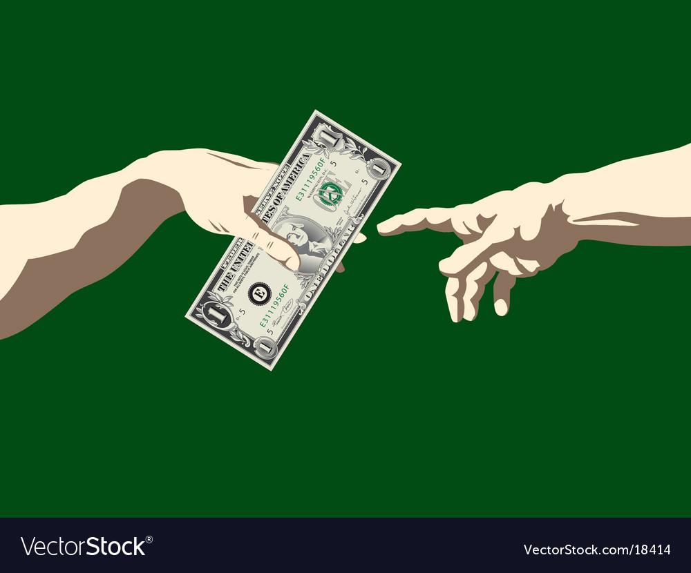 Creation of adam dollar vector | Price: 3 Credit (USD $3)