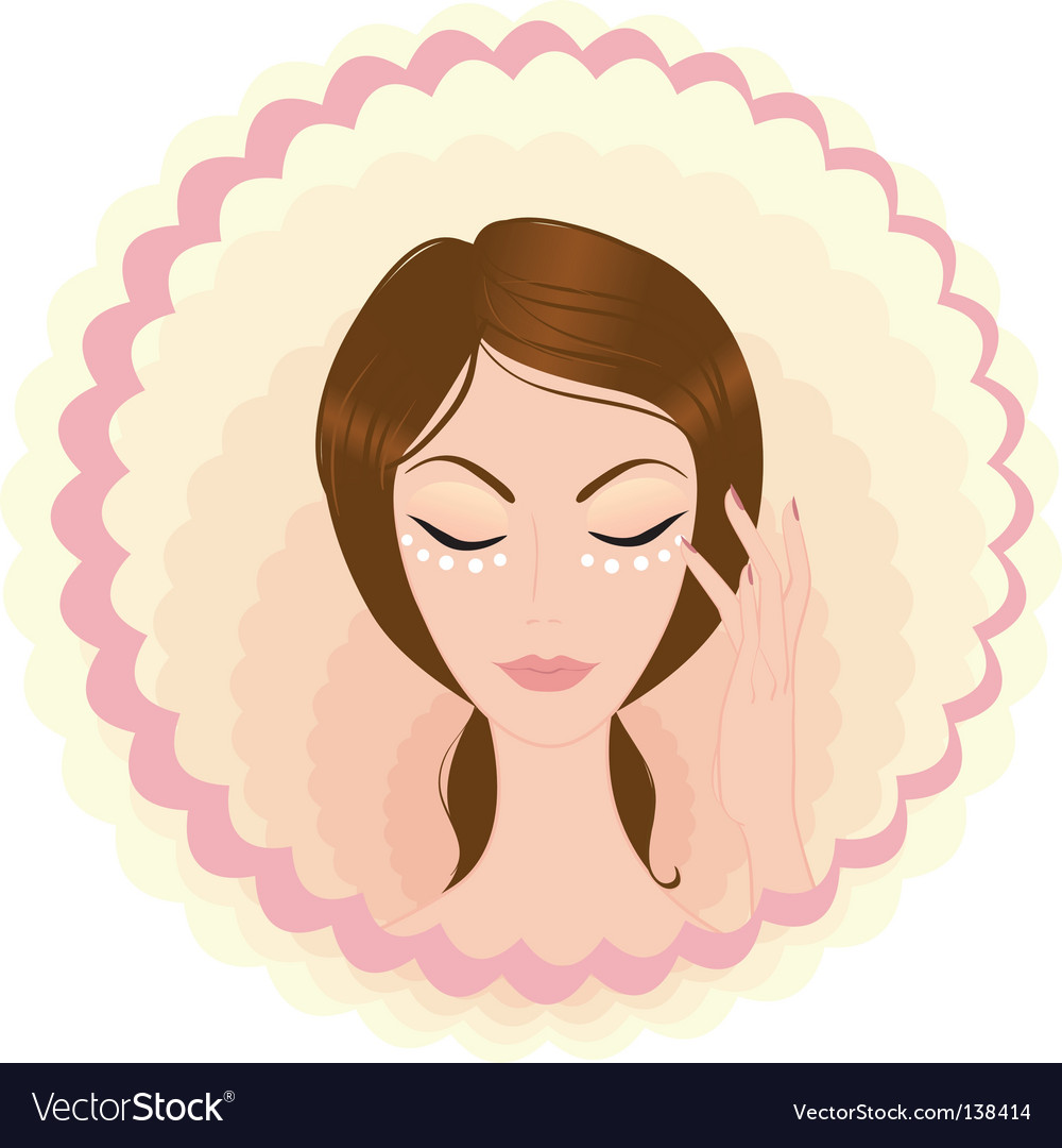 Face beauty vector | Price: 1 Credit (USD $1)