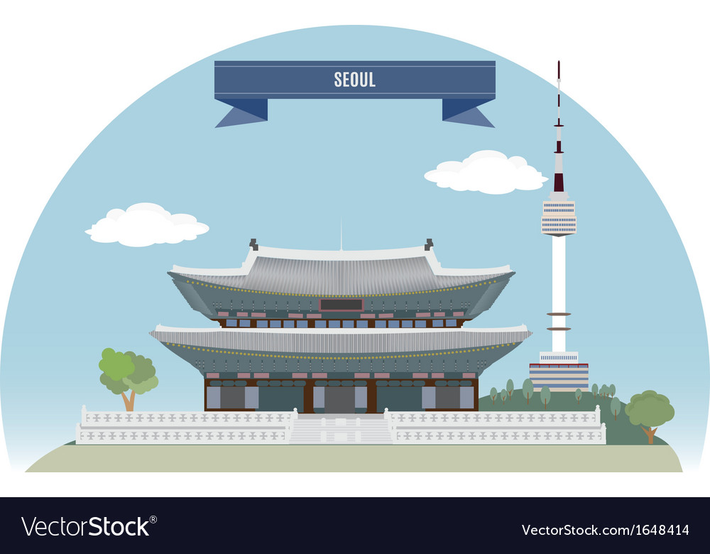 Seoul vector   Price: 1 Credit (USD $1)