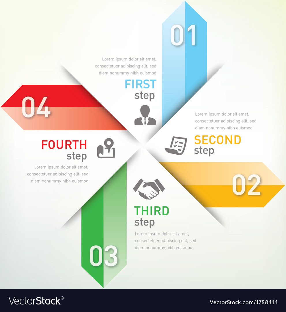 Step infographic vector | Price: 1 Credit (USD $1)