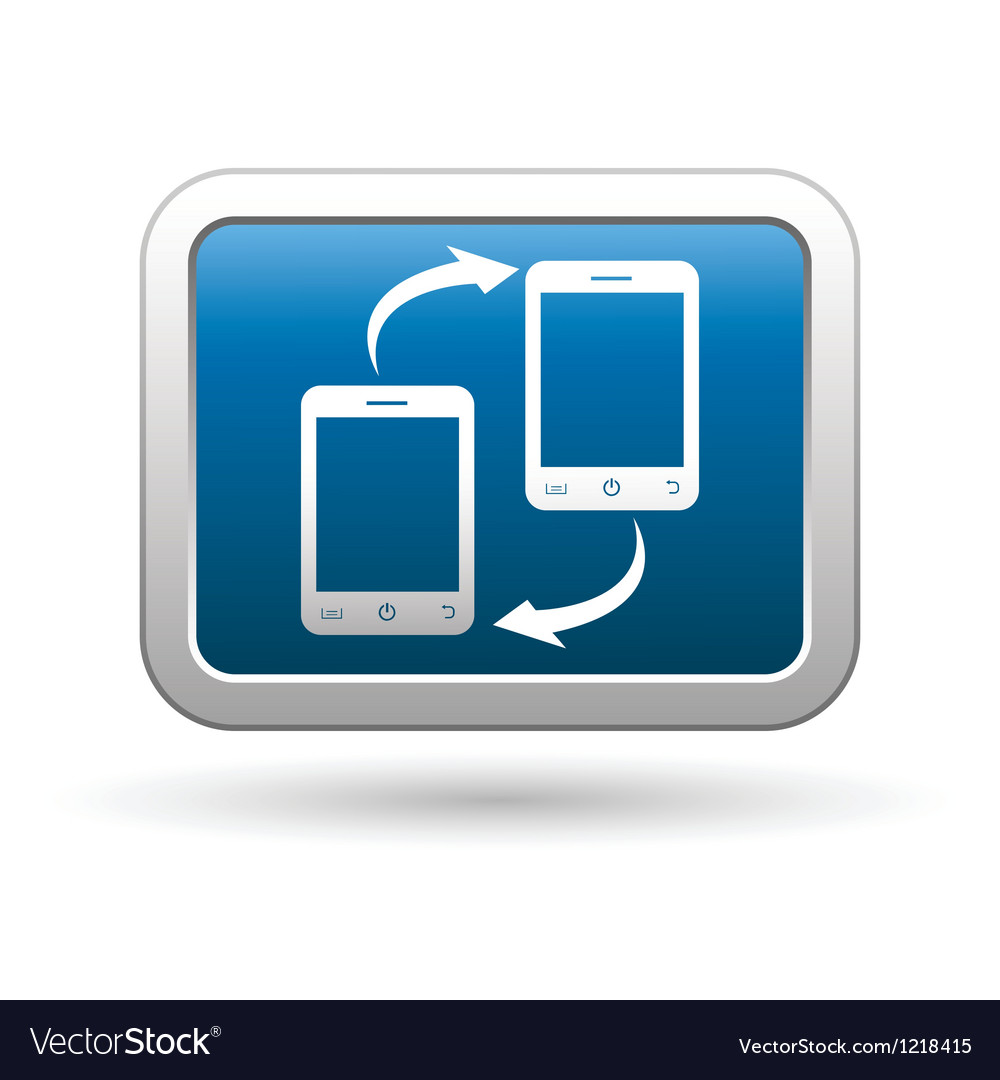 Phone connection icon vector | Price: 1 Credit (USD $1)