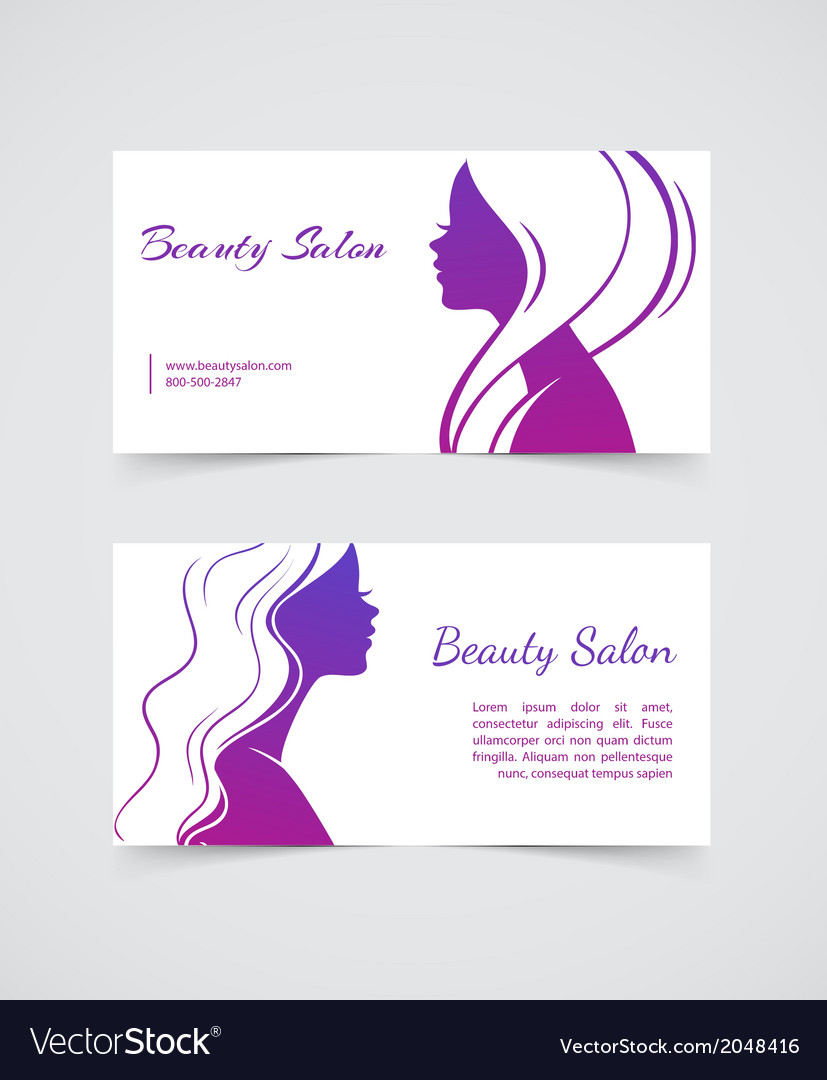 Beautiful woman cards vector | Price: 1 Credit (USD $1)