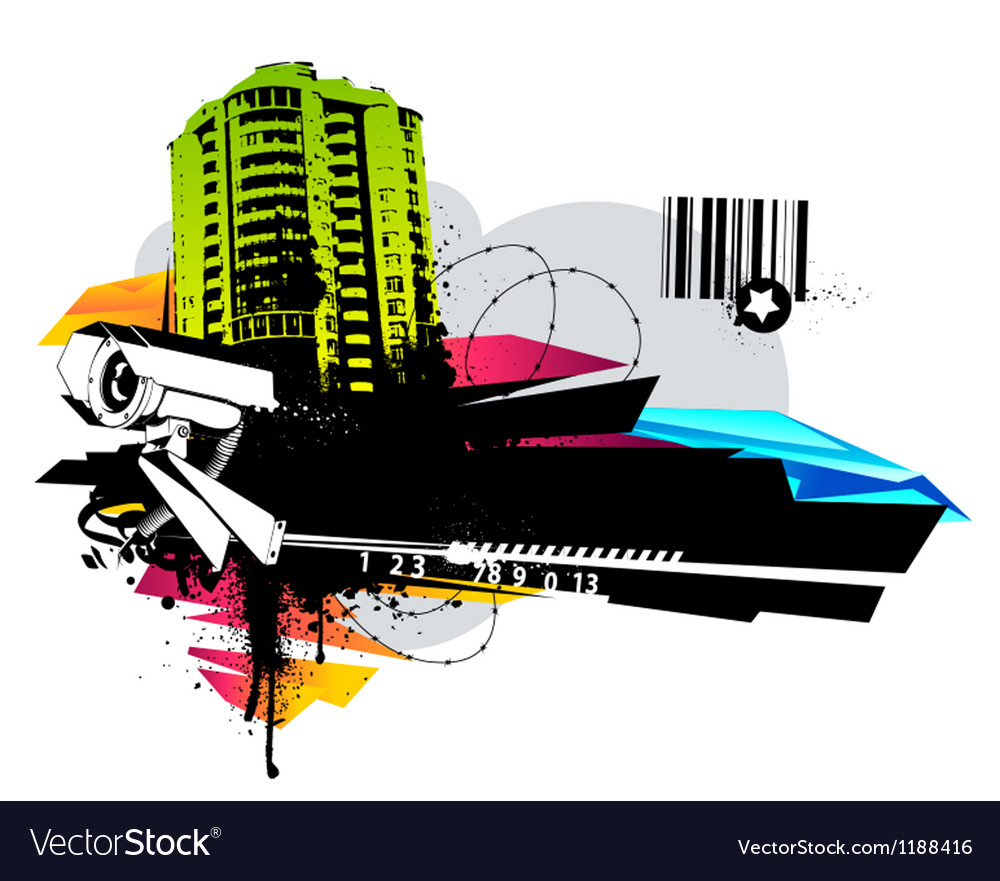 Urban design vector | Price: 1 Credit (USD $1)