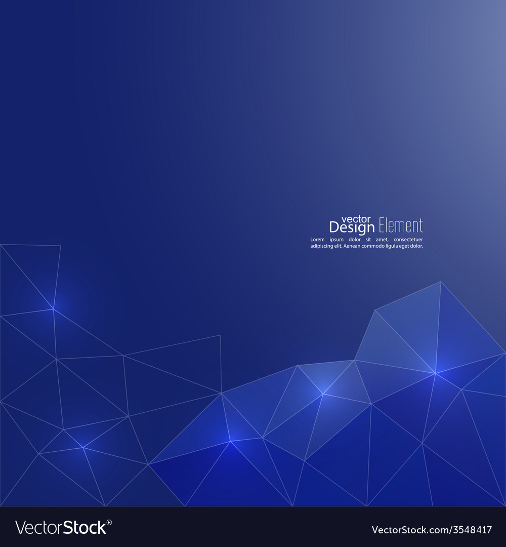 Blue abstract background with transparent mesh vector   Price: 1 Credit (USD $1)