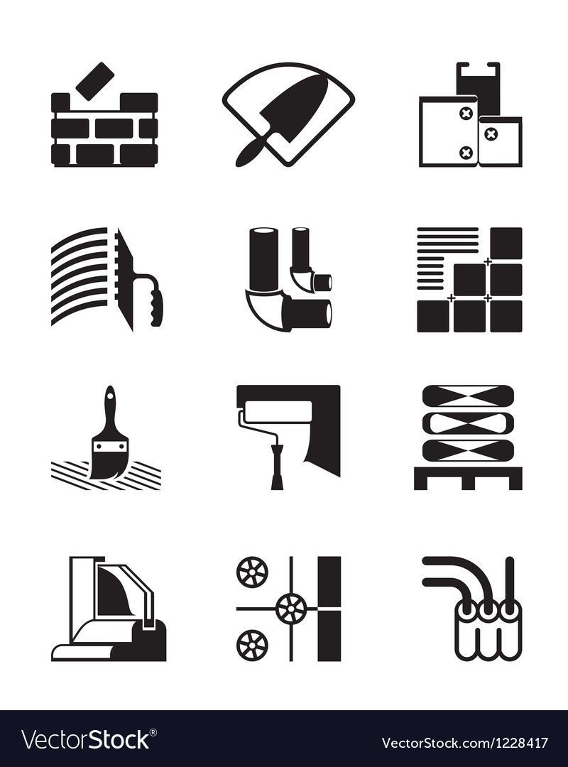 Construction materials and tools vector | Price: 1 Credit (USD $1)