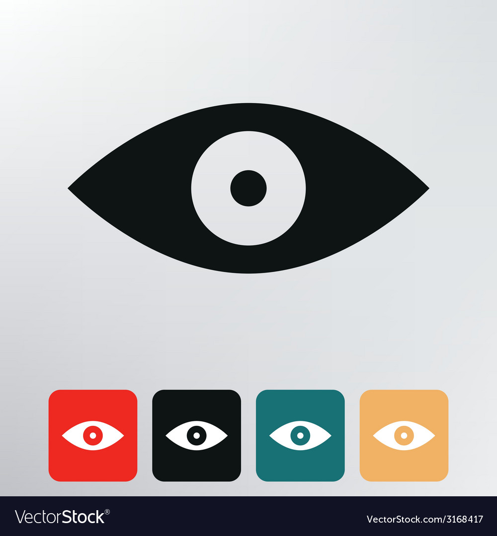 Eyes icon vector | Price: 1 Credit (USD $1)