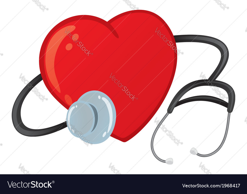 Healthy heart vector | Price: 1 Credit (USD $1)