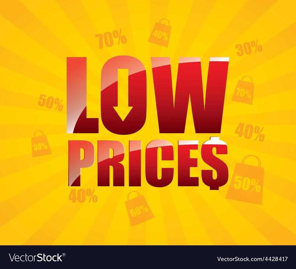 Low price vector   Price: 1 Credit (USD $1)