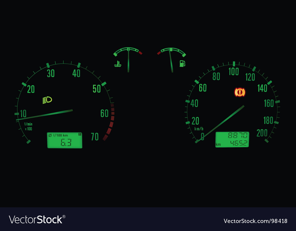 Car panel vector | Price: 1 Credit (USD $1)