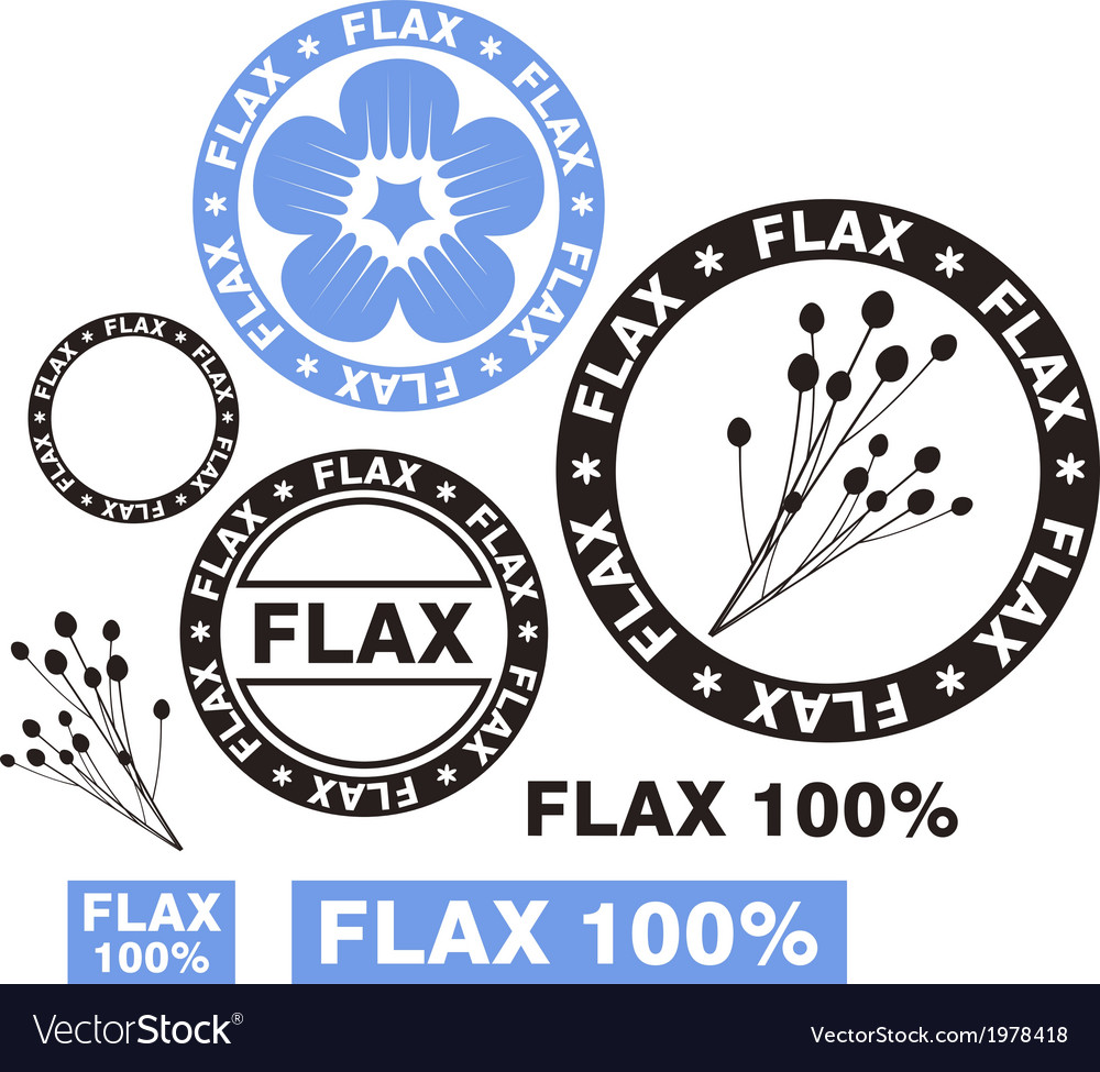 Flax vector   Price: 1 Credit (USD $1)
