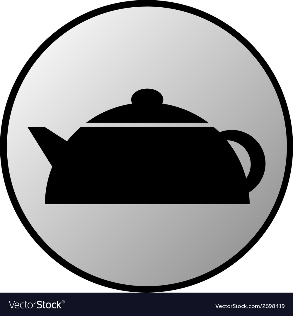 Kettle button vector | Price: 1 Credit (USD $1)