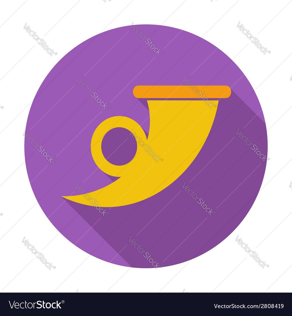 Post symbol single icon vector | Price: 1 Credit (USD $1)