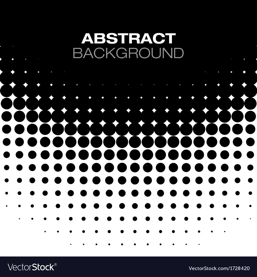 Abstract black halftone background vector | Price: 1 Credit (USD $1)