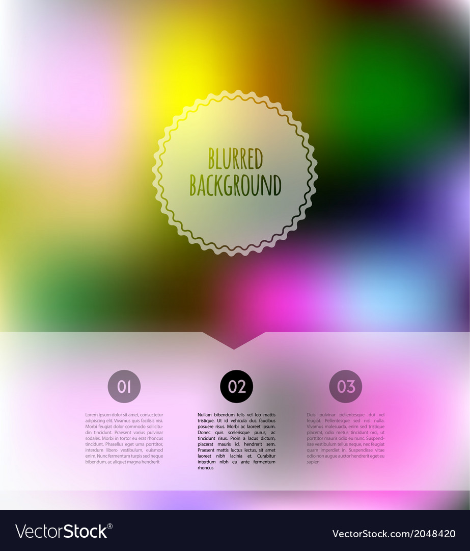 Blurred color background vector | Price: 1 Credit (USD $1)