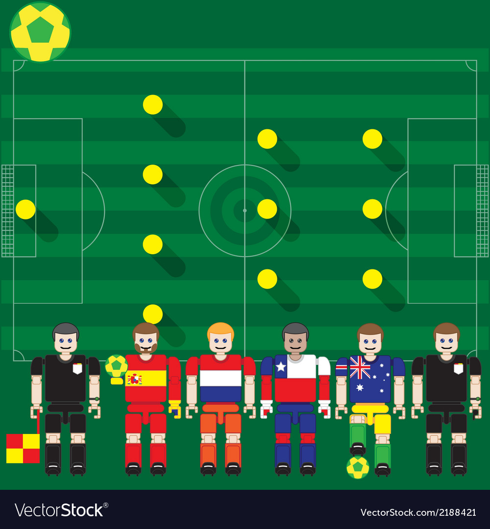 World cup 2014 group b vector | Price: 1 Credit (USD $1)