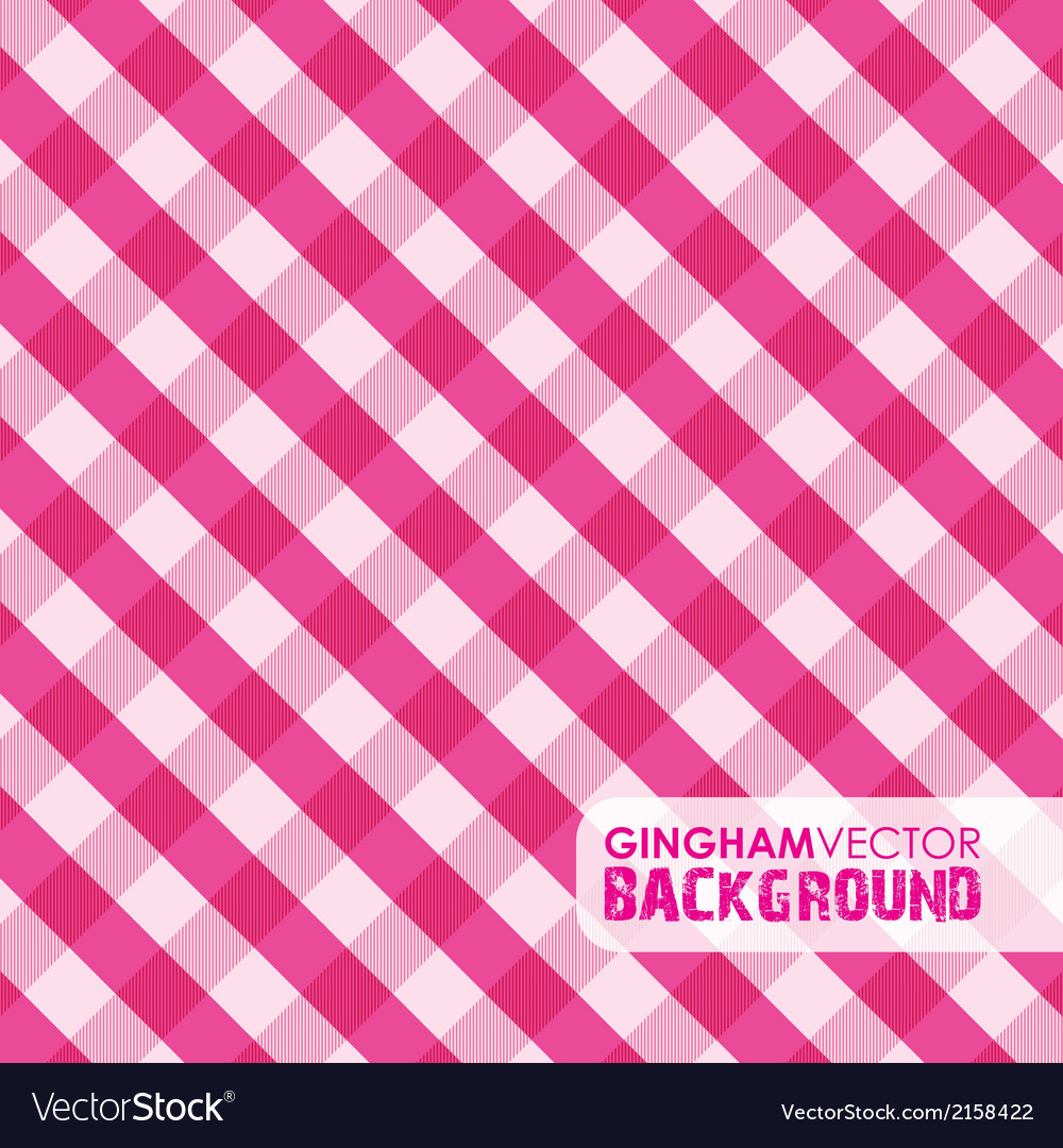 Gingham pinky vector | Price: 1 Credit (USD $1)