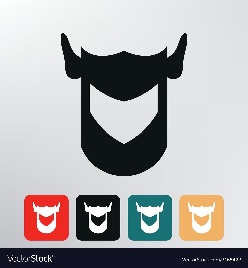 Helmet knight icon vector | Price: 1 Credit (USD $1)