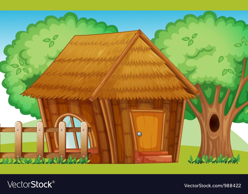 Hut vector | Price: 1 Credit (USD $1)