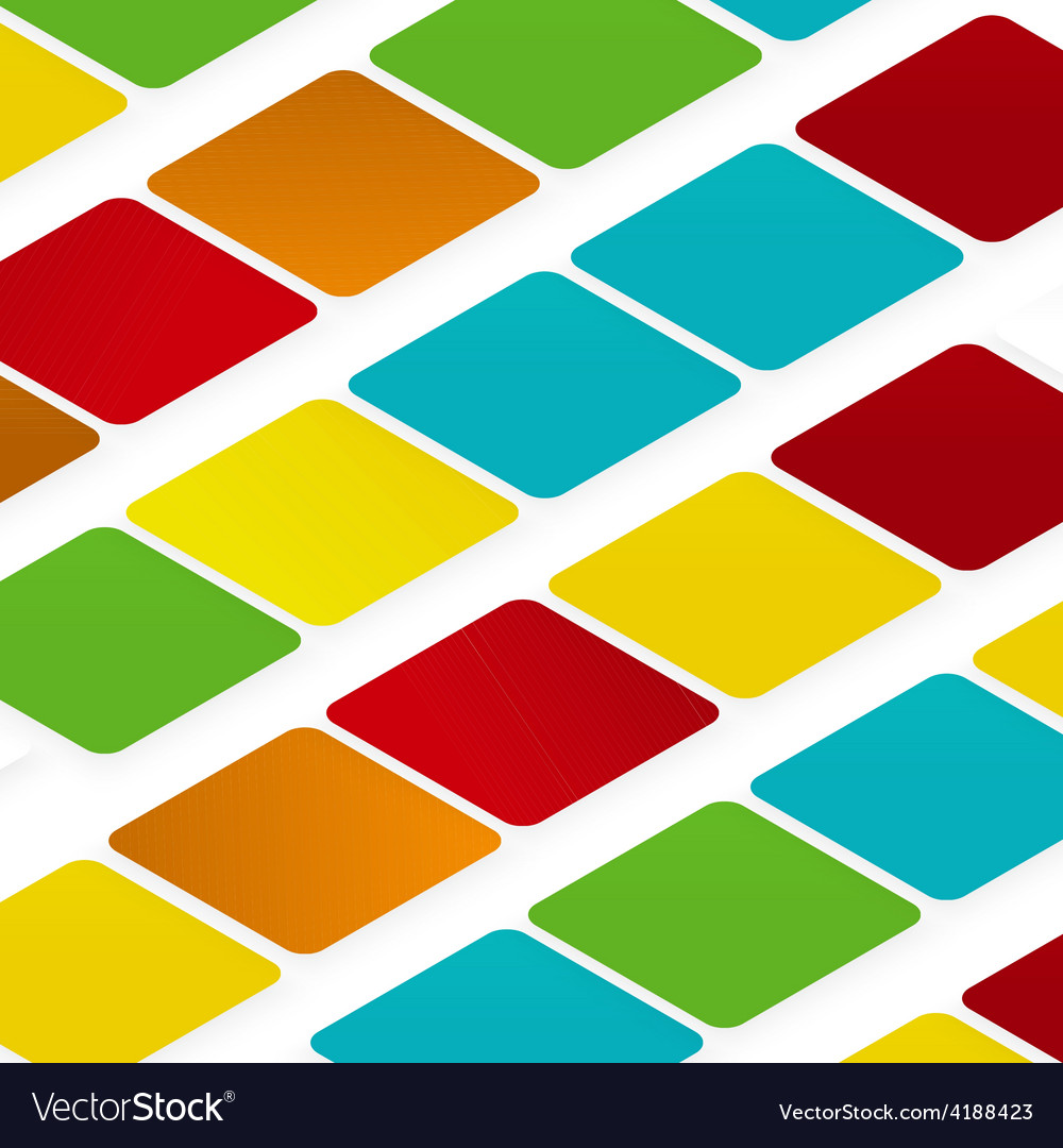 Design rhombus on the color vector | Price: 1 Credit (USD $1)