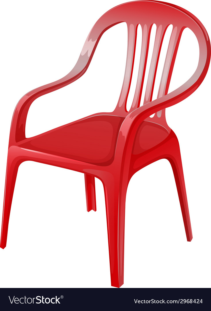 A red chair vector | Price: 1 Credit (USD $1)