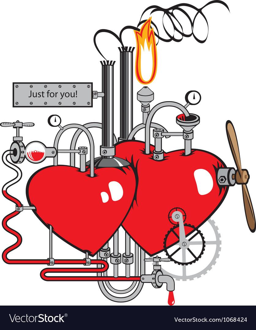 Love factory vector | Price: 1 Credit (USD $1)
